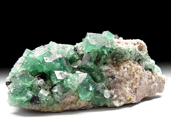 Fluorite, Galena, Quartz