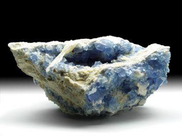 Fluorit (Flussspat) , Baryt, Quarz