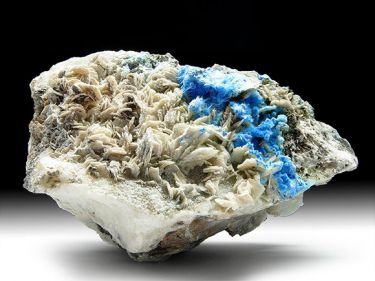 Carbonat-Cyanotrichit, Baryt