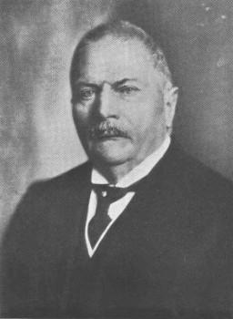 Reinhard Brauns (1867-1937), Autor des mineralogischen Klassikers Das Mineralreich.