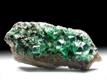 Fluorit (Flussspat), Galenit (Bleiglanz)