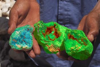 Schön bunt auf jeden Fall - aber auch echt? Seien Sie aufmerksam beim Mineralienkauf! Foto: Fotolia.