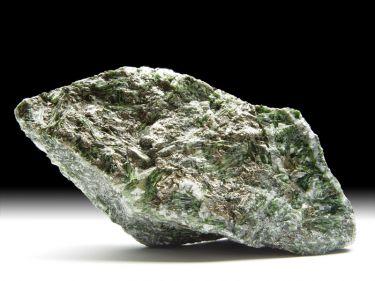 Tremolit-Var. Chromtremolit, Pyrrhotin