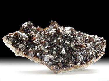 Sphalerit (Zinkblende), Calcit