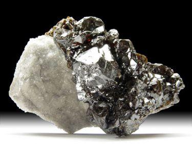 Sphalerit (Zinkblende), Quarz