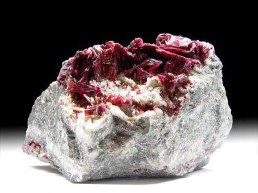 Erythrin (Kobaltblüte), Quarz
