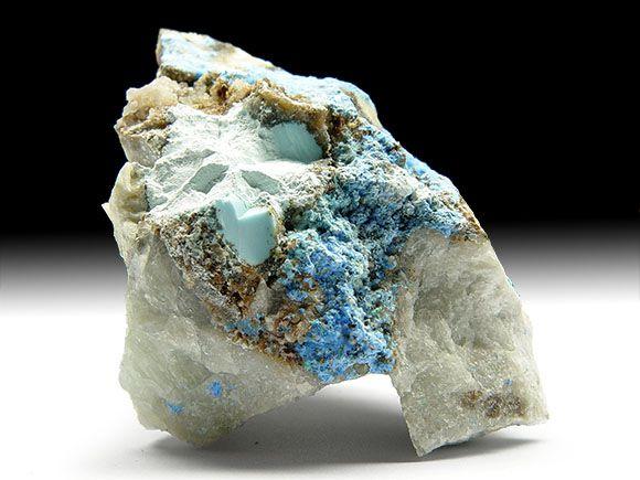 Carbonat-Cyanotrichit, Halloysit