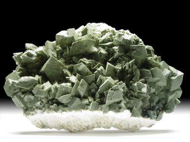 Orthoklas-Var. Adular (Feldspatgruppe), Chlorit