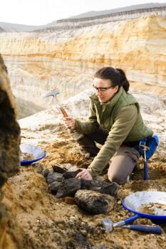 Die Wahl des richtigen Geo-Werkzeugs ist essentiell für eine gelungene Mineralienexkursion. Foto: Estwing.
