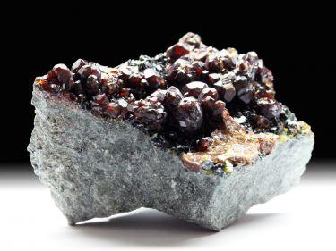 Andradit (Granatgruppe), Klinochlor, Epidot