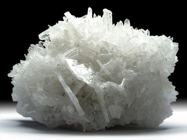 Quarz-Var. Bergkristall, Baryt
