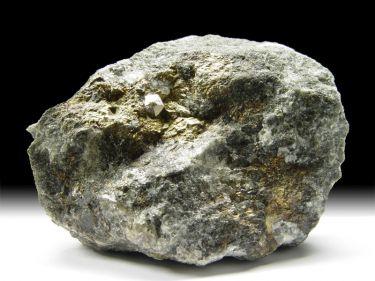 Cobaltin (Cobaltit, Kobaltglanz), Chalkopyrit (Kupferkies)