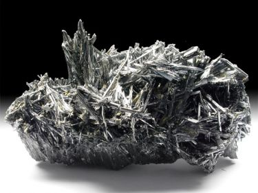 Antimonit (Antimonglanz, Stibnit)