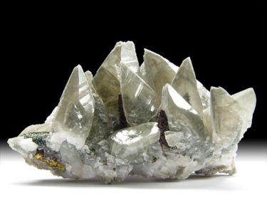 Calcit, Chalkopyrit/Markasit