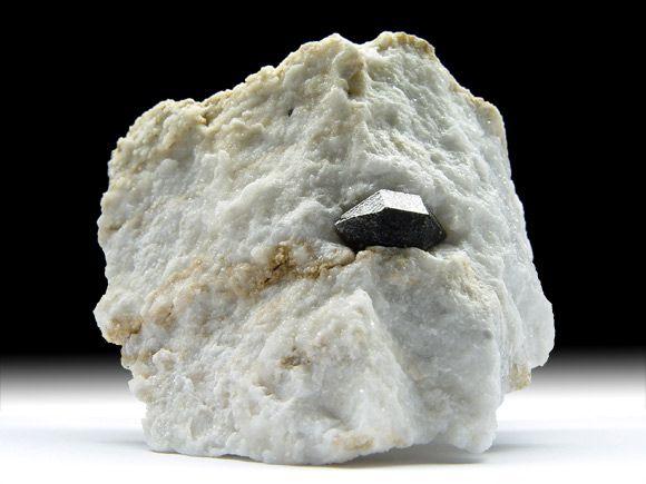 Schwarzer Quarz