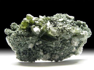 Titanit (Sphen), Chlorit
