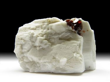 Granat-Var. Spessartin, Albit